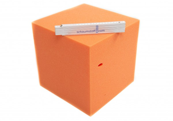 Schaumstoffwürfel orange 30x30x30cm Sopo W30/30D30T1Q4042