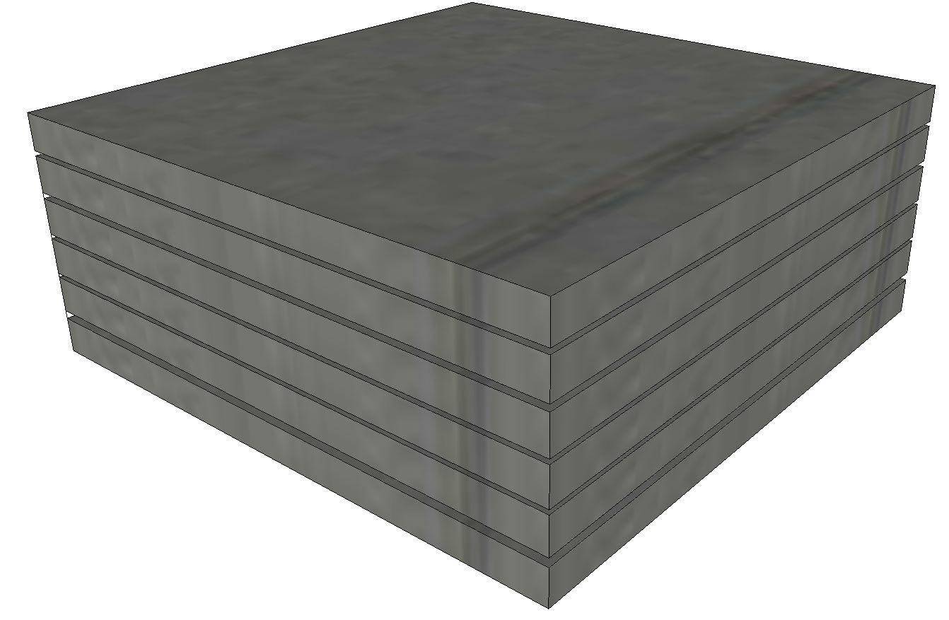 Schaumstoff Platten 6stk 50x50x3 Cm Mittelfest