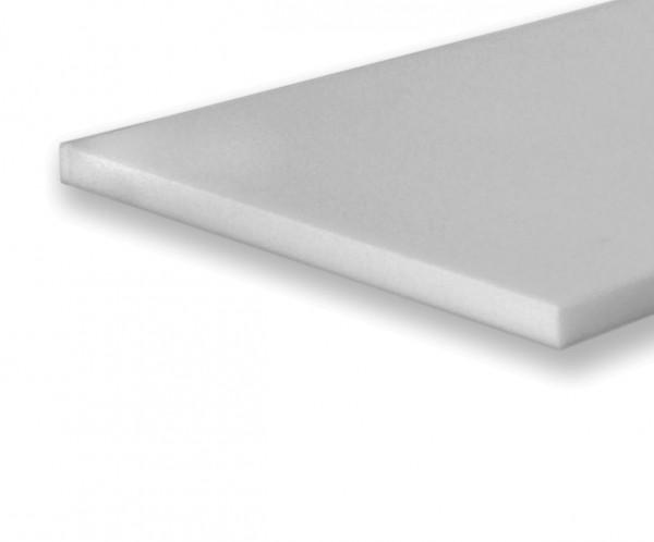 Basotect ® Platte 58x58x7cm weißgrau