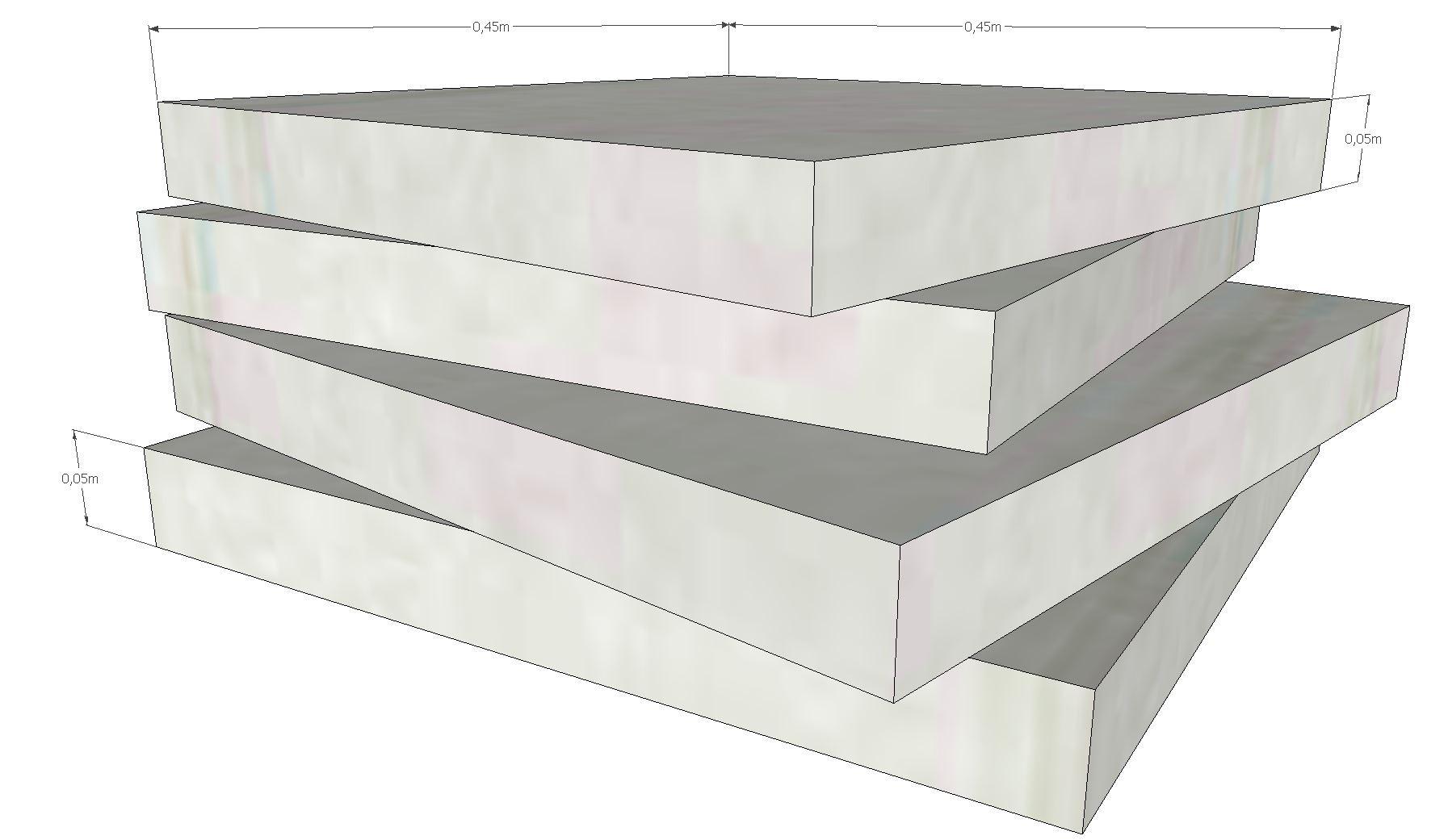 schaumstoff polster set 4 teile 45x45x5cm sehr feste qualit t. Black Bedroom Furniture Sets. Home Design Ideas
