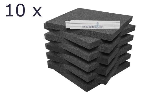 Schaumstoff Platten als Polster oder Verpackung