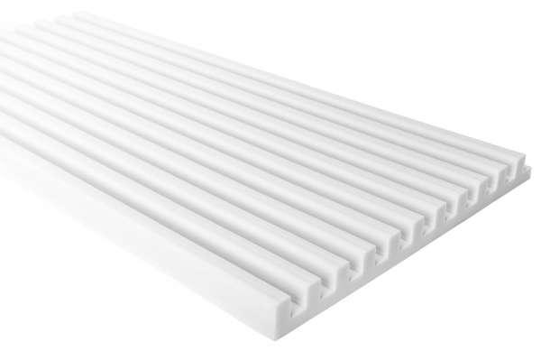 Basotect® Absorber mit Stegprofil 50x100x5cm ST50/100D5QBG