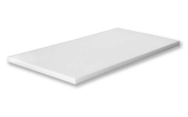 Basotect ® Platte 118x58x10cm Schallabsorber weiß