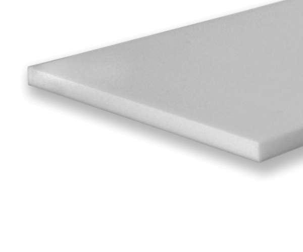 Basotect ® Platte 58x58x4cm weißgrau